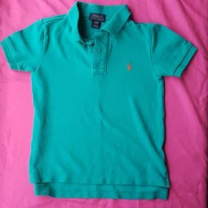 Kid's teal polo by Polo Ralph Lauren